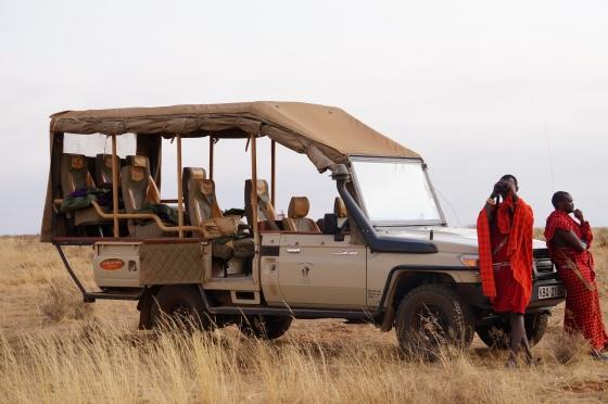 Our safari ride